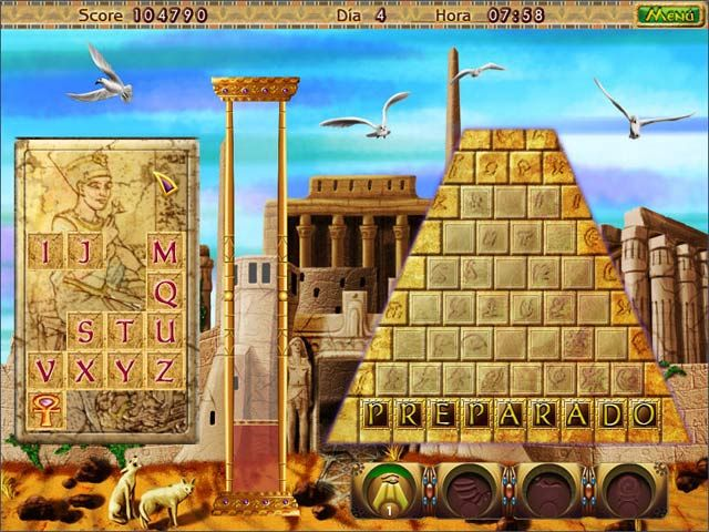Amazing pyramids screen1