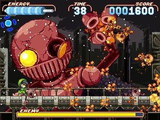 Noitu Love 2: Devolution, un juego de acción como los de antes