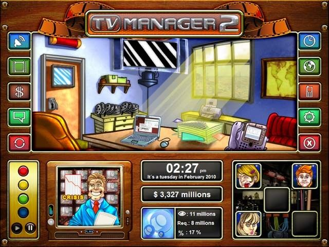 TV Manager 2 y Airport Mania 2: Wild Trips