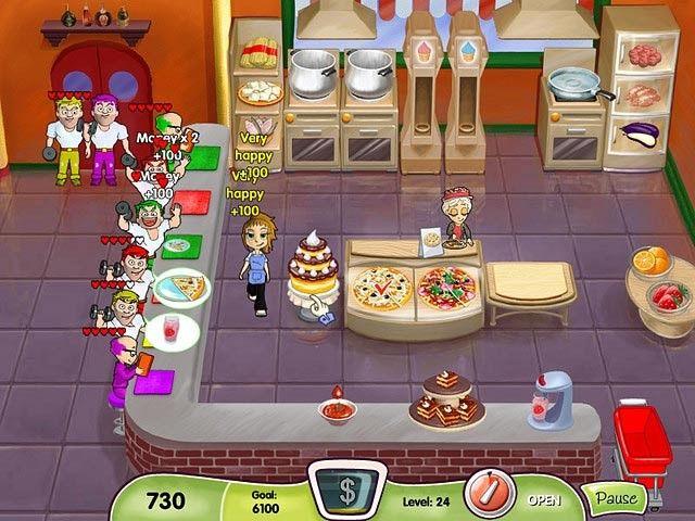 Cooking Dash, Flo se pone al otro lado de la barra