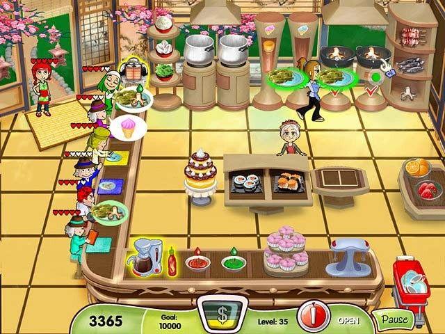 Imagen juego Cooking Dash