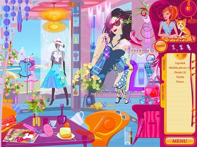 Fashion Apprentice, un popular juego de vestir y buscar objetos
