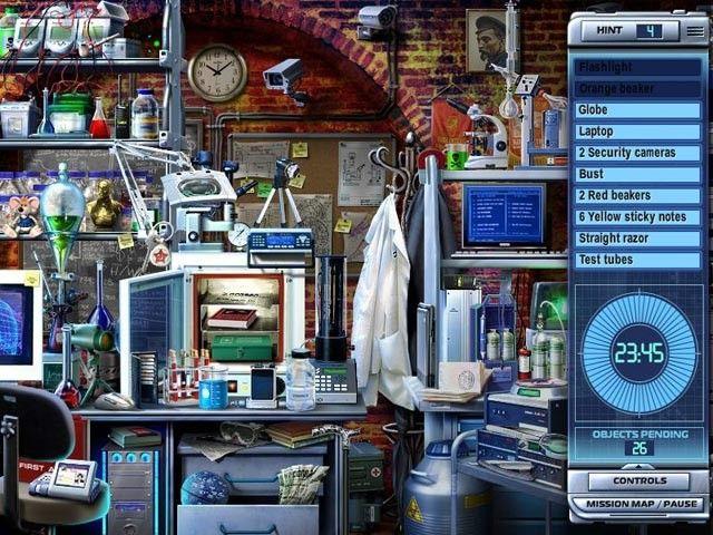 Interpol e Interpol 2, juegos de buscar objetos