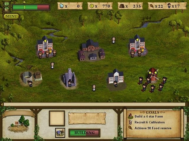 Forgotten Lands: First Colony, un juego casual de estrategia