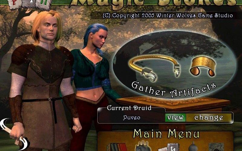 Magic Stones, duelo de druidas