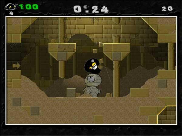 Gish en la primera fase del juego