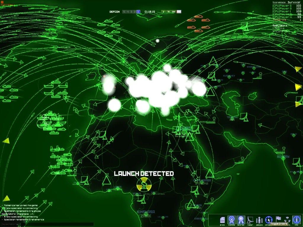 Imagen del juego Defcon