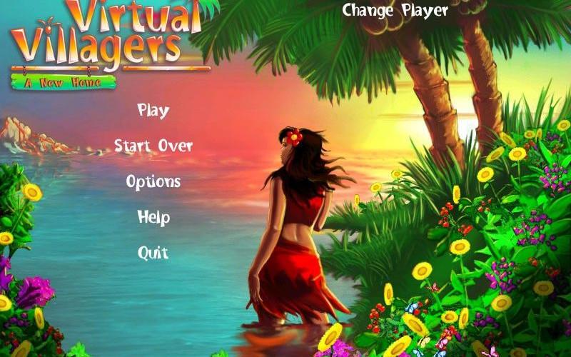 Virtual Villagers, perdidos en una isla desierta