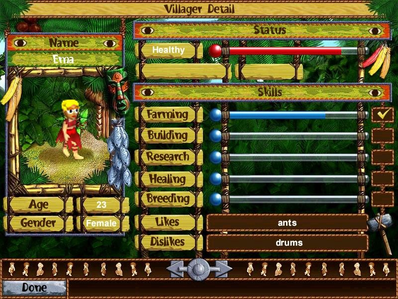 Descarga juego Virtual Villagers