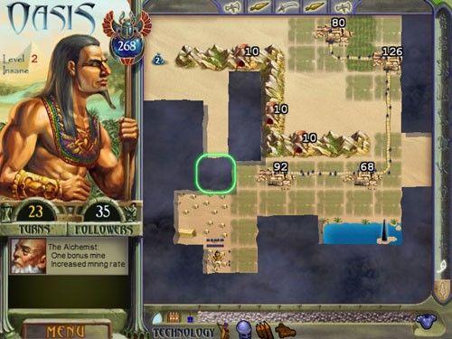Oasis, reconstruyendo el imperio egipcio en tres minutos