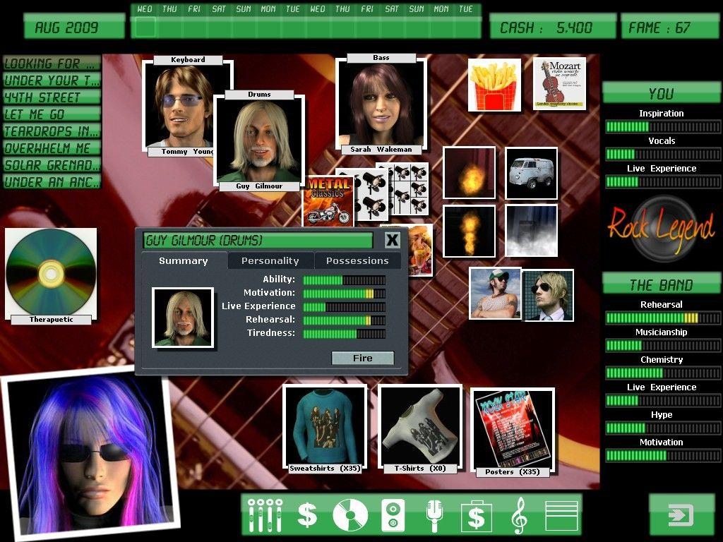 Descarga juego Kudos Rock Legend