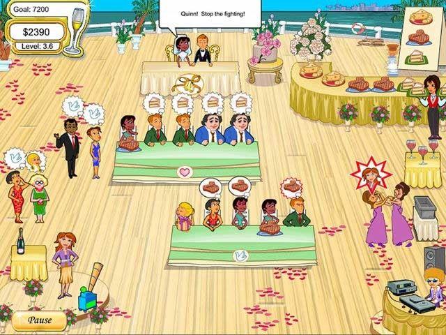 Wedding Dash, Cake Mania y más juegos de atender clientes