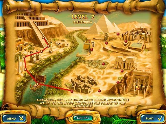 Imagen Mahjongg - Ancient Egypt