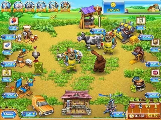 Farm Frenzy 3: La Ruleta Rusa, lo último en juegos de granjas