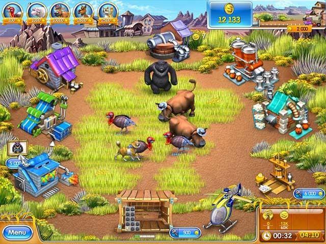 Farm Frenzy 3, te gustan los juegos de granja?