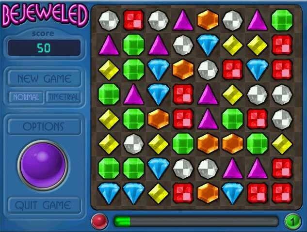 Descarga juego Bejeweled