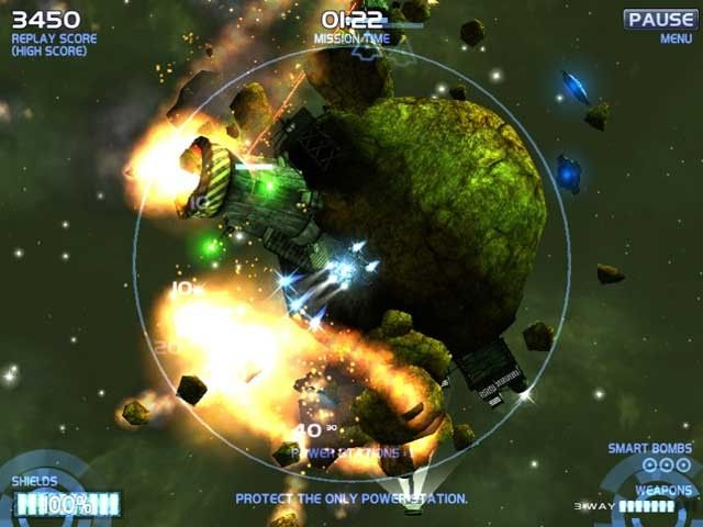 Arklight 2: DarkSide, un shooter de naves al estilo Mario Galaxy