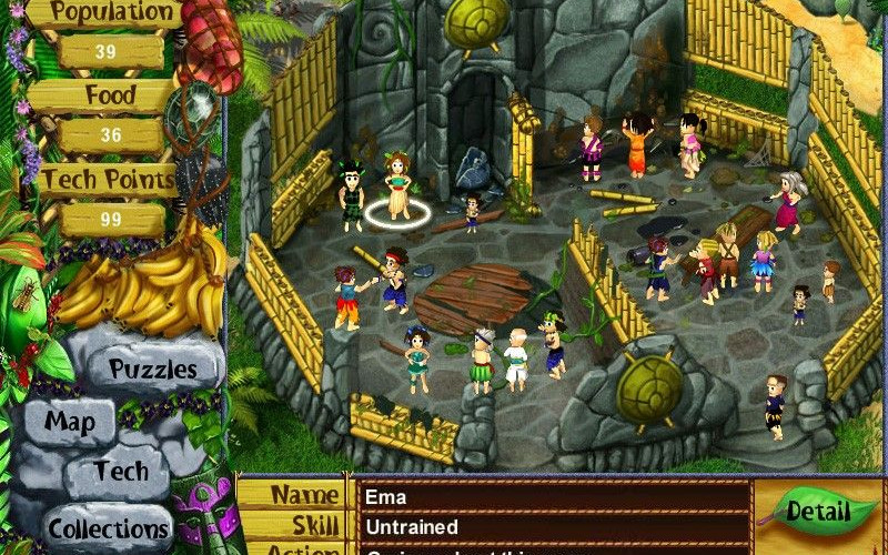 Virtual Villagers 3: The Secret City, volvemos a la isla desierta