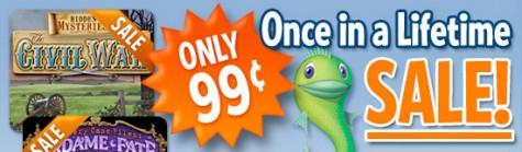 Juegos de Big Fish Games a 99 centavos de dólar!