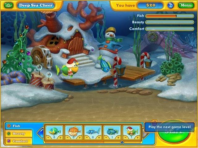 Fishdom: Seasons Under the Sea, en español