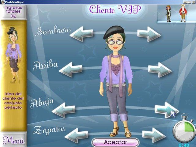Posh Boutique, un juego de moda