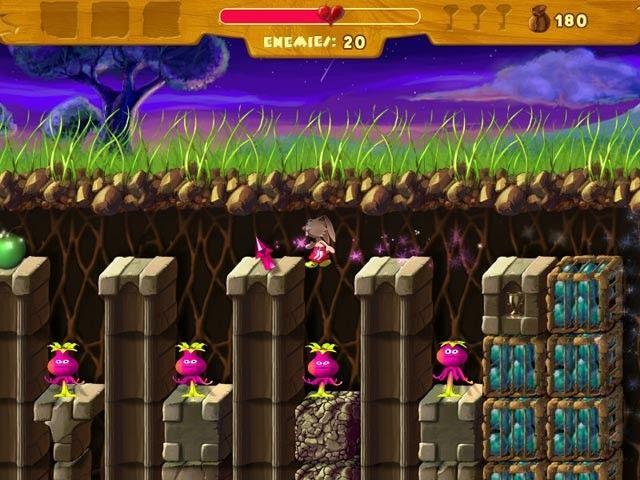 Rabbit?s Magic Adventures, plataformas al estilo Mario Bros.