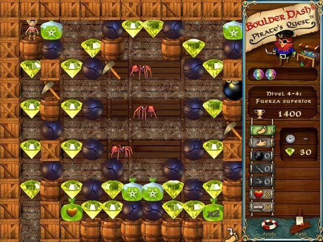Boulder Dash: Pirate?s Quest
