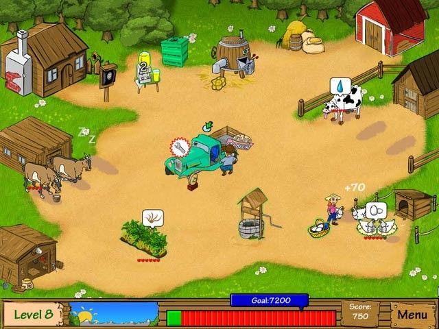Dairy Dash, haciendo divertido trabajar en una granja