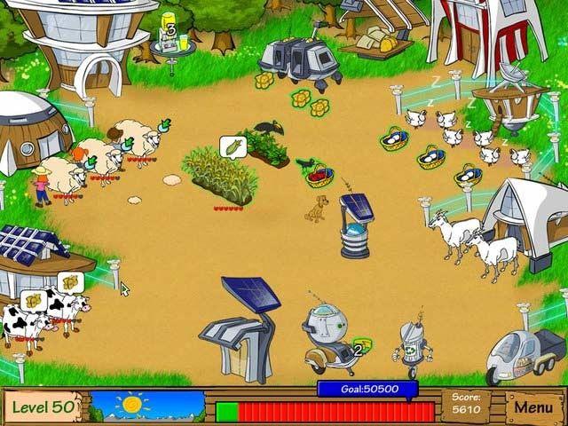 Imagen de juego Dairy Dash