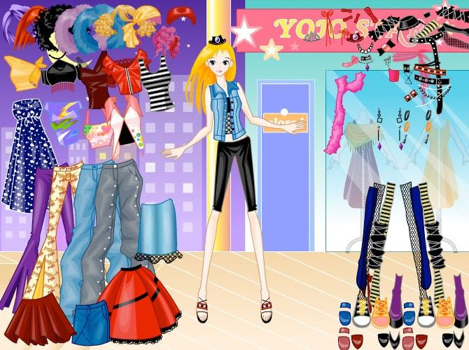Juegos de vestir muñecas y Barbies, la nueva moda