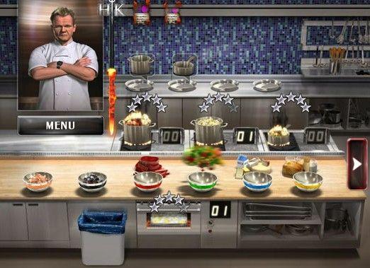 Juego de cocina Hell's Kitchen