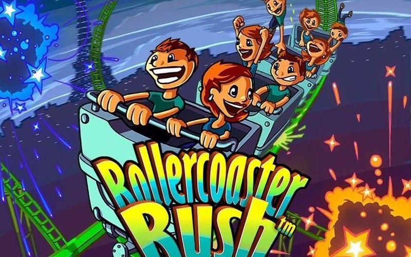 Rollercoaster Rush, montando en montaña rusa